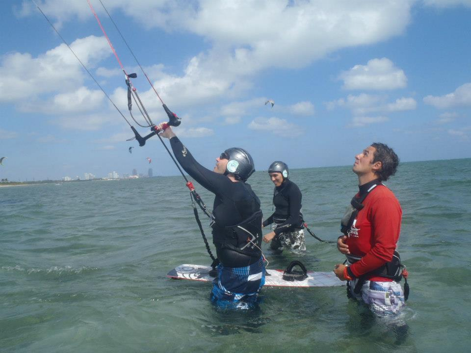 bring a friend and learn kitesurfing fun and exciting