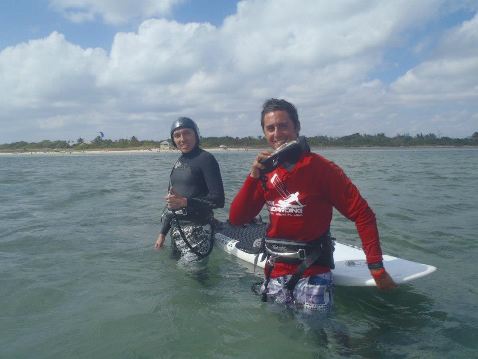 learn kiteboarding one on one in coconut grove with coconut grove kiteboarding